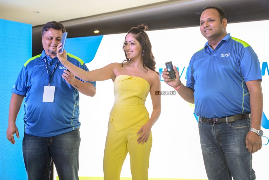 Yami Gautam At The Vivo Mobile Launch In New Delhi