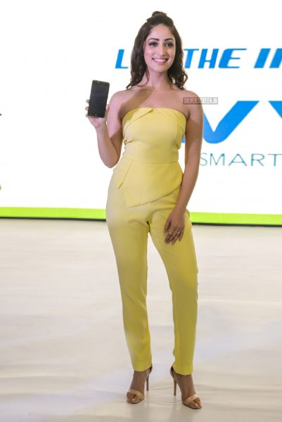Yami Gautam At The Vivo Mobile Launch In New Delhi