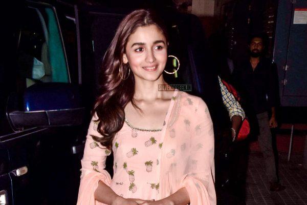 Alia Bhatt at The Premiere Of Raazi