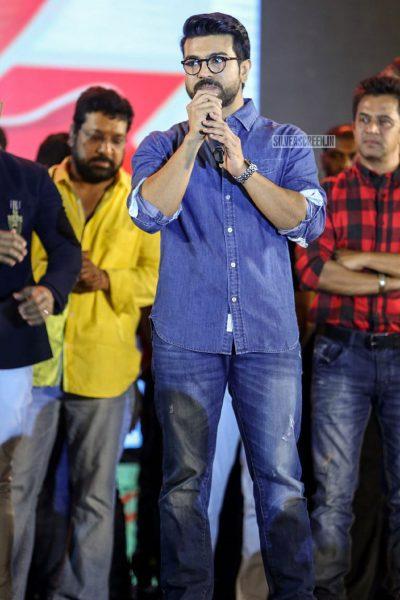 Ram Charan At The Naa Peru Surya Naa Illu India Pre-Release Event