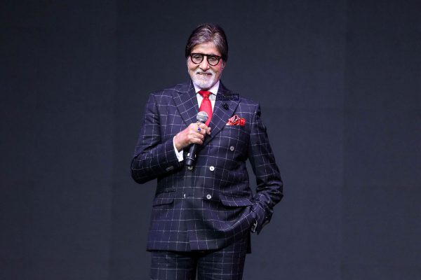 Amitabh Bachchan & Aditi Rao Hydari At A Smartphone Launch