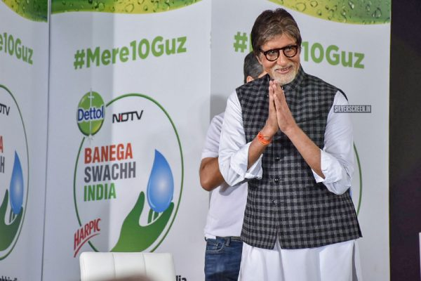 Amitabh Bachchan At The Launch of Banega Swach India-Season 5