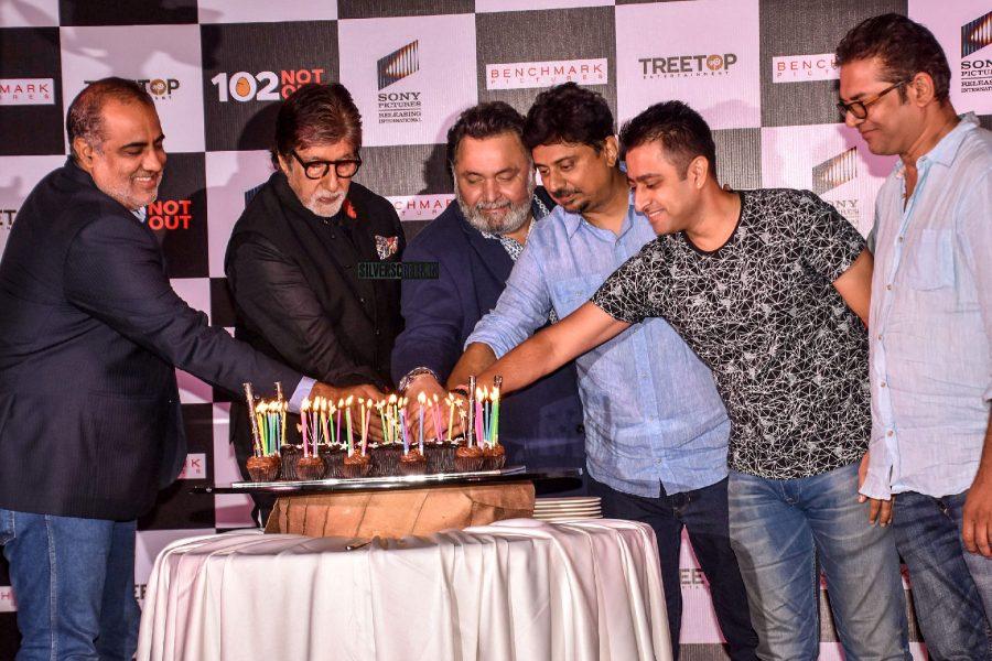 Amitabh Bachchan, Rishi Kapoor At The 102 Not Out Success Meet