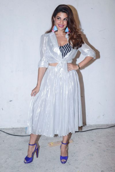 Jacqueline Fernandez  At The Promotions Of Race 3