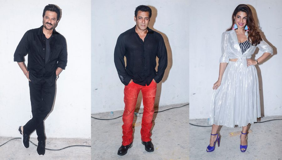 Anil Kapoor, Salman Khan, Jacqueline Fernandez & Others At The Promotions Of Race 3