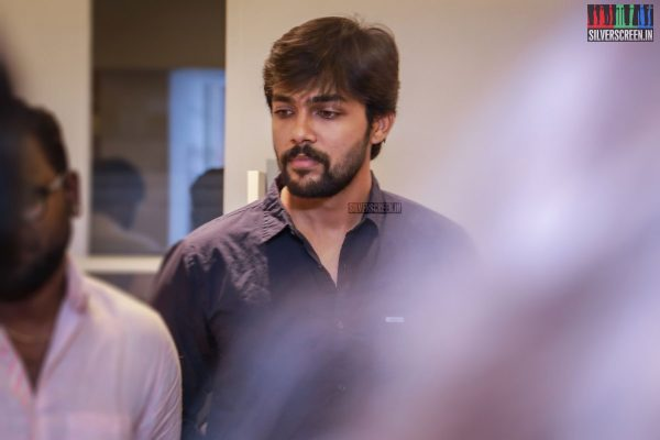 Arav & Suaja Varunee At The Inauguration Of Photo Exhibition