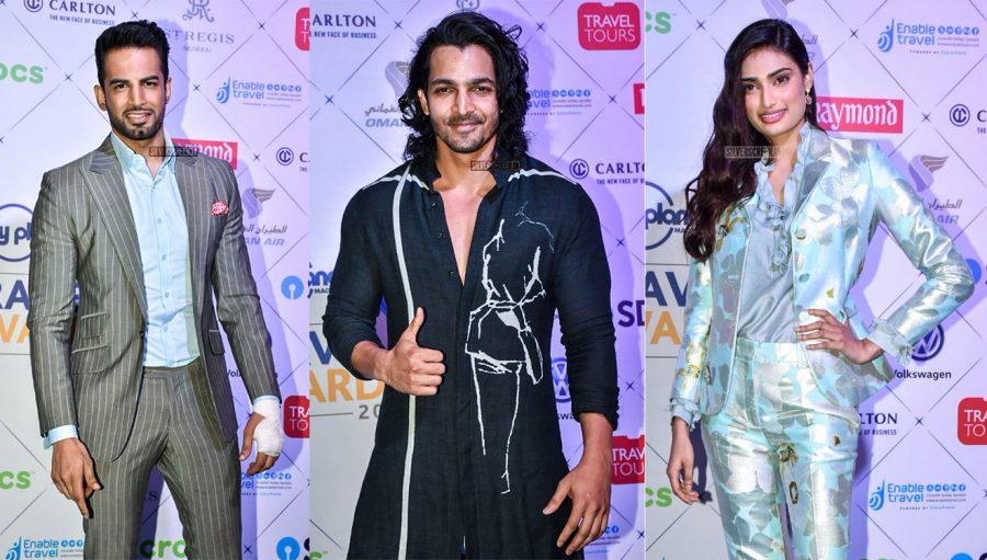 Athiya Shetty, Harshwardhan Rane, Upen Patel & Others At A Travel Awards