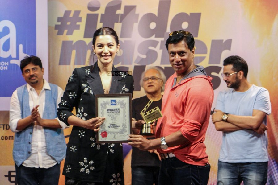 Gauhar Khan At The IPTA Press Meet