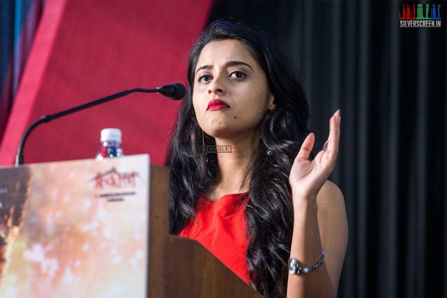 Arthana Binu At The Sema Press Meet