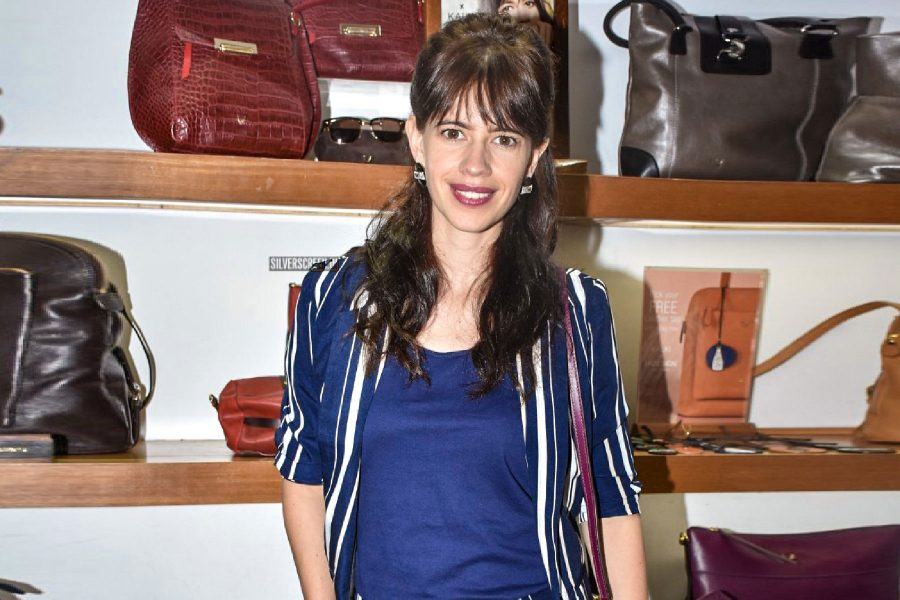 Kalki Koechlin At The Launch Of 'Hidesign X Kalki A Collection'