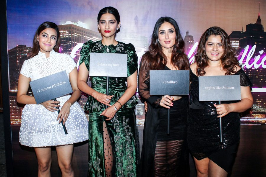 Kareena Kapoor, Sonam Kapoor, Swara Bhaskar & Others At The Veere Di Wedding Promotions