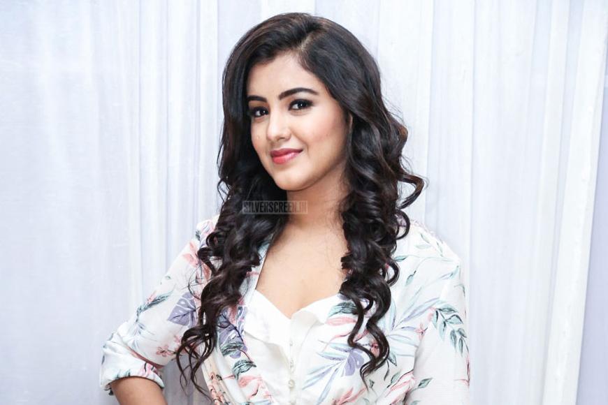 Malvika Sharma At The Nela Ticket Press Meet