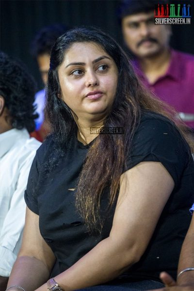Namitha And Others At The Thodra Audio Launch