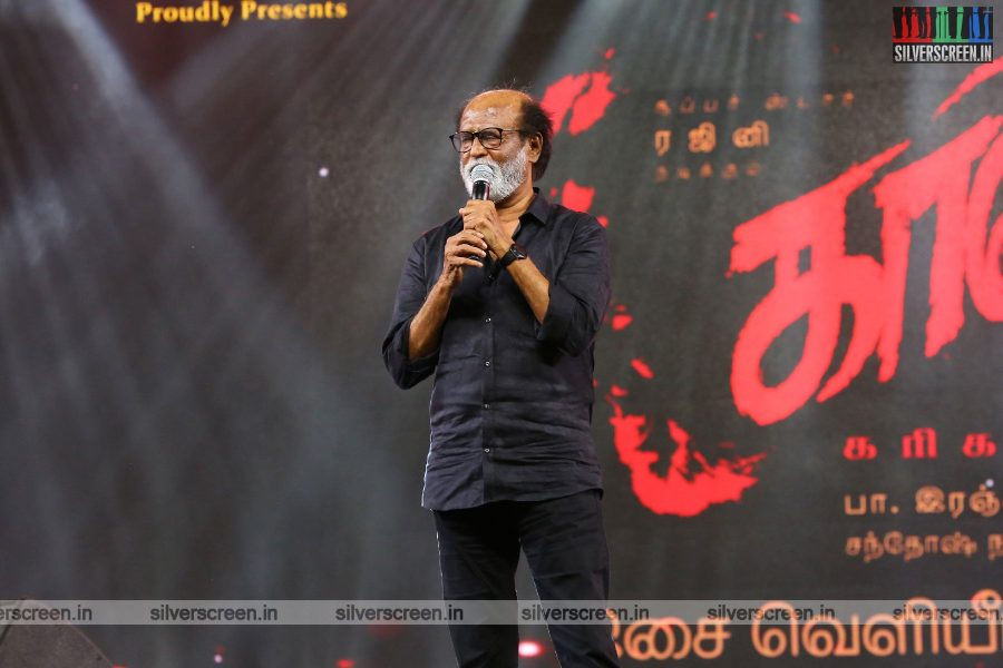 Rajinikanth At The Kaala Audio Launch