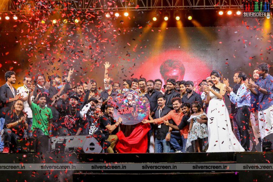 Rajinikanth, Dhanush, Pa Ranjith & Others At The Kaala Audio Launch