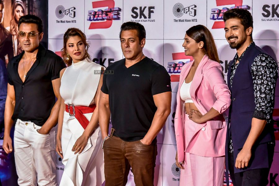 Salman Khan, Jacqueline Fernandez, Anil Kapoor & Others At The Race 3 Trailer Launch