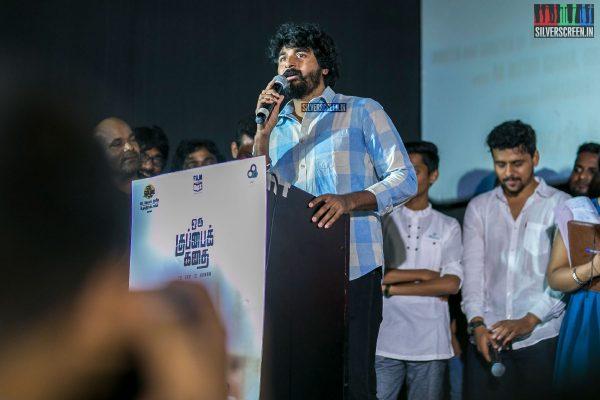 Sivakarthikeyan, Arya, Udhayanidhi Stalin, Manisha Yadav & Others At The Oru Kuppai Kadai Audio Launch