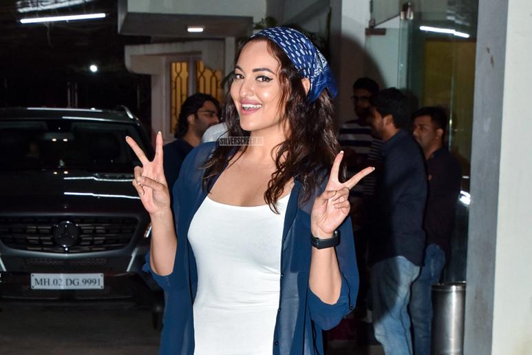 Sonakshi Sinha At A Marathi Movie Premiere