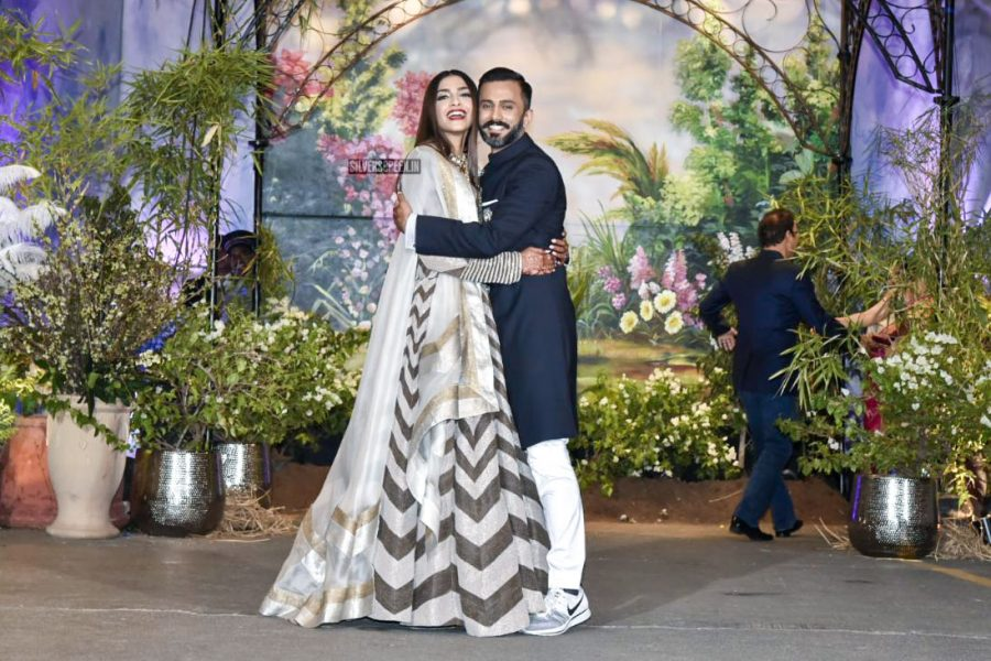 Sonam Kapoor Wedding Reception Photos