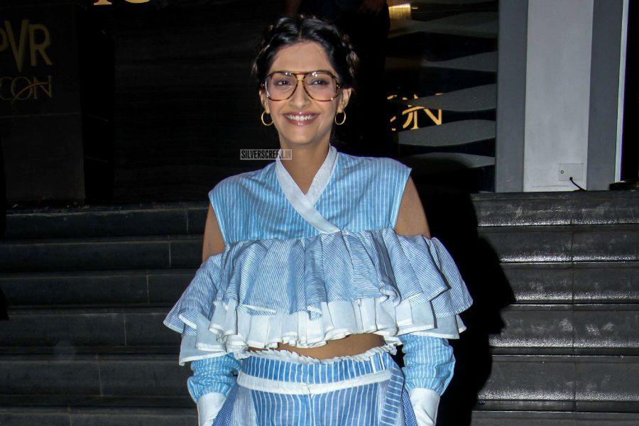 Sonam Kapoor At The Veere Ki Wedding Premiere