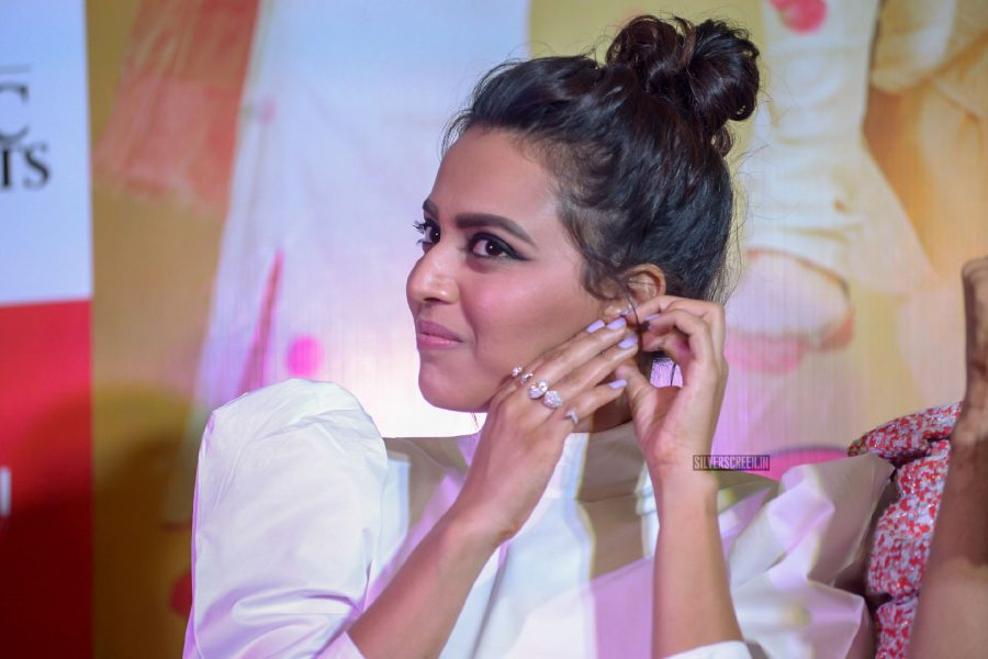 Swara Bhaskar At The Veere Di Wedding Press Meet