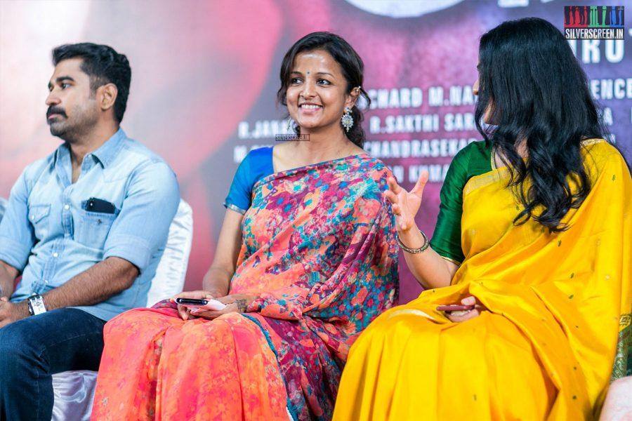 Kiruthiga Udhayanidhi, Sunaina At The Kaali Press Meet
