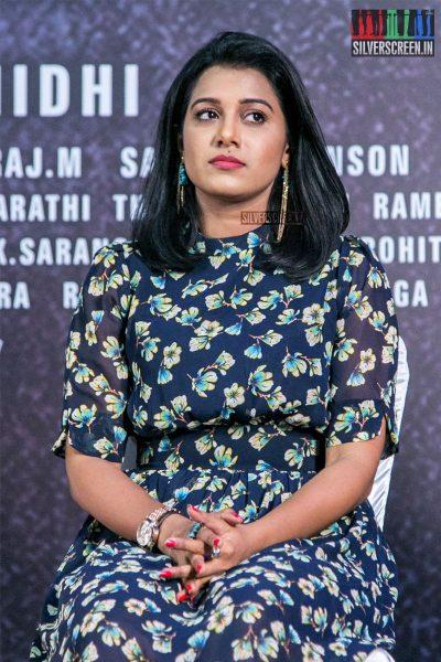 Shilpa Manjunath At The Kaali Press Meet