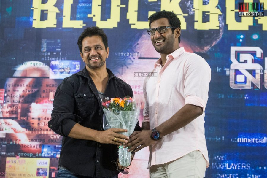 Vishal, Arjun At The Irumbuthirai Success Meet