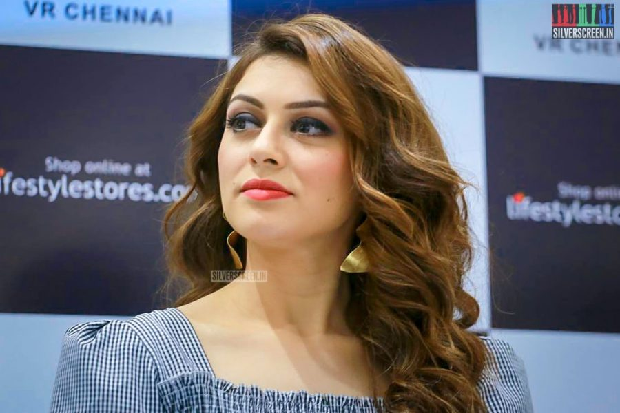 Hansika Motwani At A Store Launch In Chennai