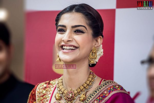 Sonam Kapoor at the Launch of Kalyan Jewellers Showroom in Chennai
