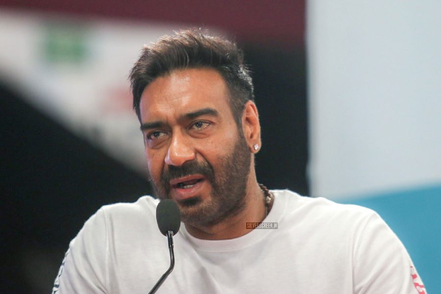 Ajay Devgn & Kajol At An Event Promoting Ban On Plastics
