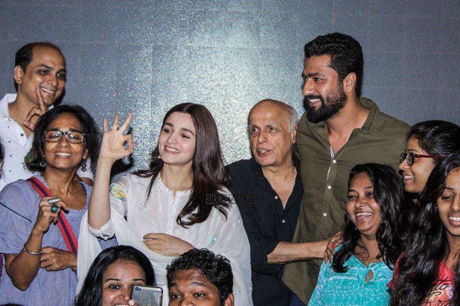 Alia Bhatt & Vicky Kaushal At The Raazi Premiere