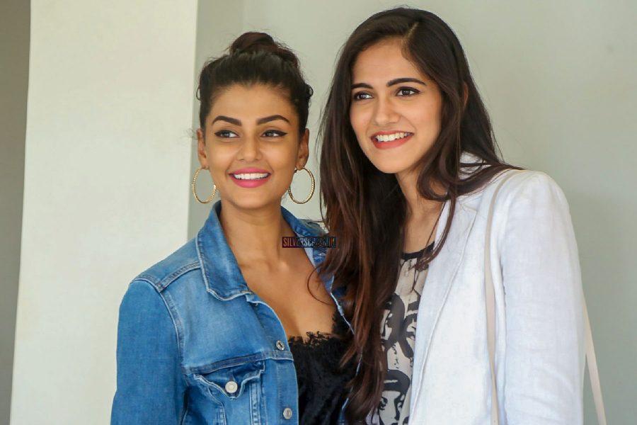 Anisha Amrose And Simran Choudhary At The Ee Nagaraniki Emaindi