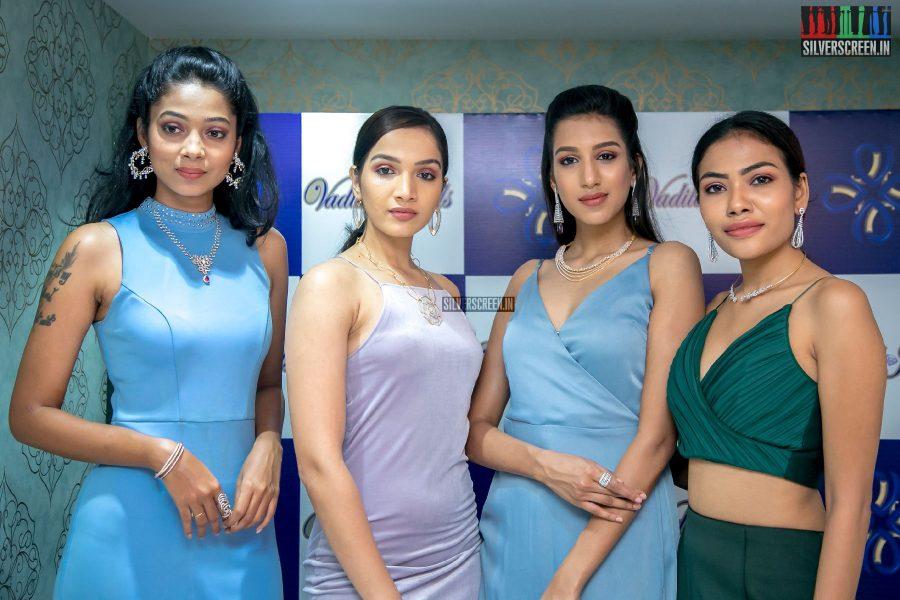 Ashwini Kumar & Ayisha At A Jewellery Showroom Launch