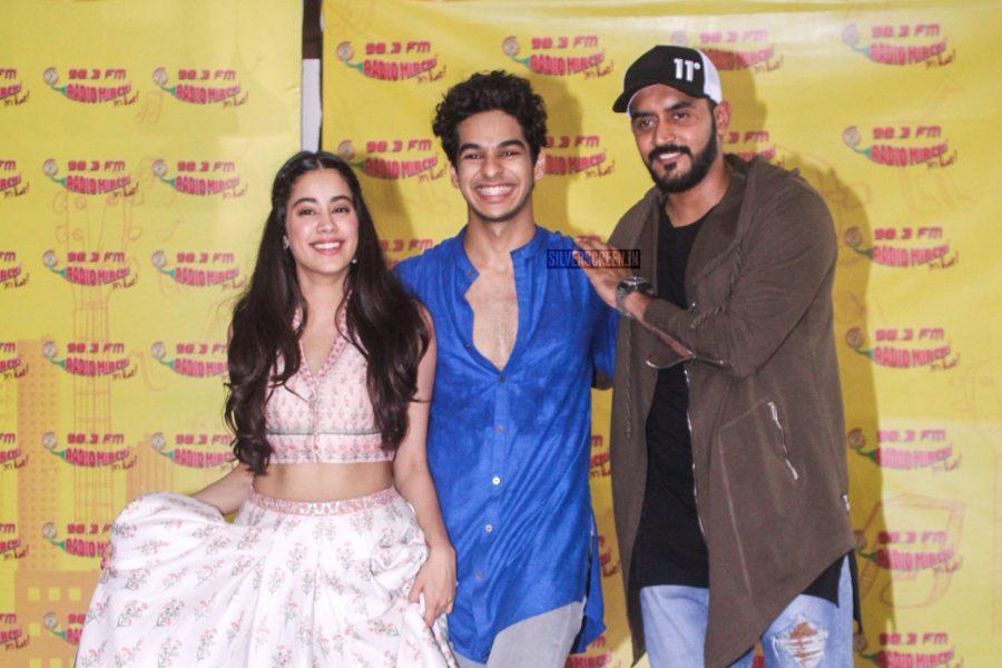 Dhadak: Jhanvi Kapoor And Ishaan Khatter At The Launch Of 'Zingaat'