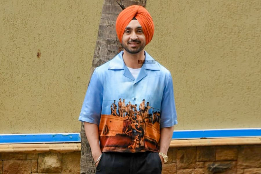 Diljit Dosanjh At The Soorma Promotion