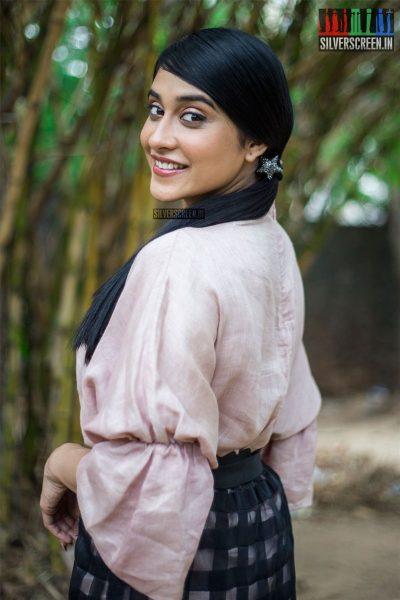 Regina Cassandra At The Mr. Chandramouli Press Meet