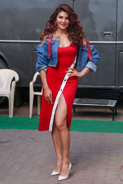 Jacqueline Fernandez At The Race 3 Promotions