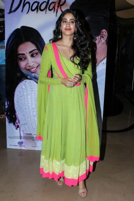 Janhvi Kapoor At The Dhadak Trailer Launch