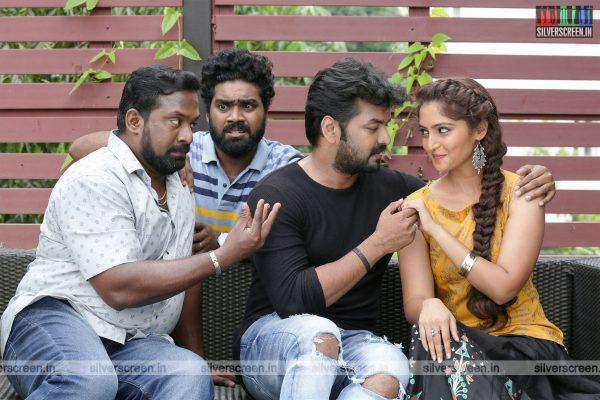 Jarugandi Movie Stills Starring Jai, Reba Monica John, Robo Shankar And Others