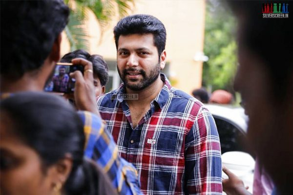 Jayam Ravi At The Tik Tik Tik Success Meet