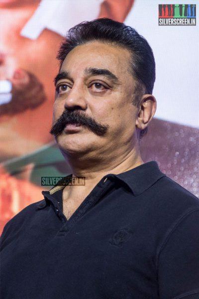 Kamal Haasan At The Vishwaroopam 2 Trailer Launch