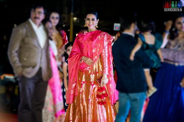 Karisma Kapoor and Nikki Galrani at the Launch of Neeru's