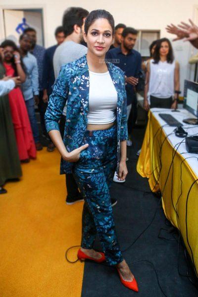 Lavanya Tripathi At The Inauguration Of Virtu Fitness Work Out Hub