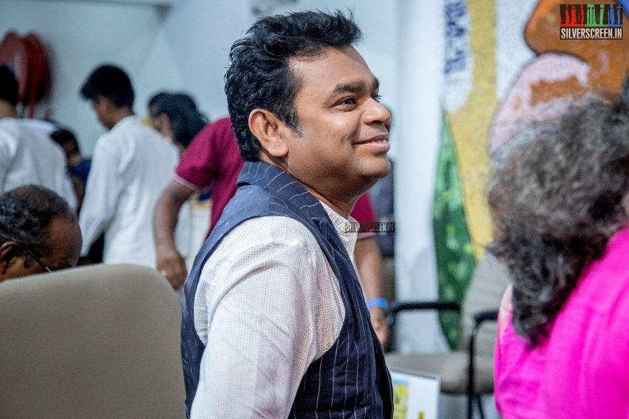AR Rahman At The Inauguration Of The Extension Wing Of Mahesh Memorial Paediatric Oncology Centre