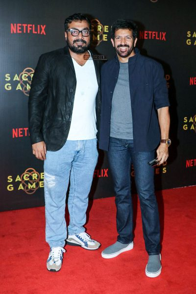 Anurag Kashyap At The Sacred Games Premiere