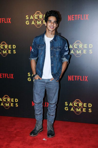 Ishaan Khatter At The Sacred Games Premiere