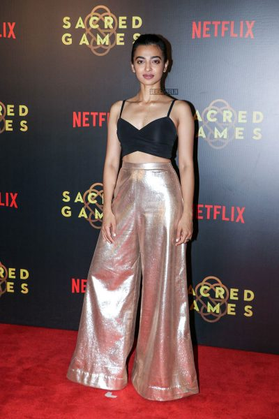 Radhika Apte At The Sacred Games Premiere