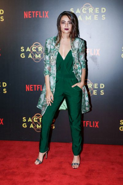 Surveen Chawla At The Sacred Games Premiere