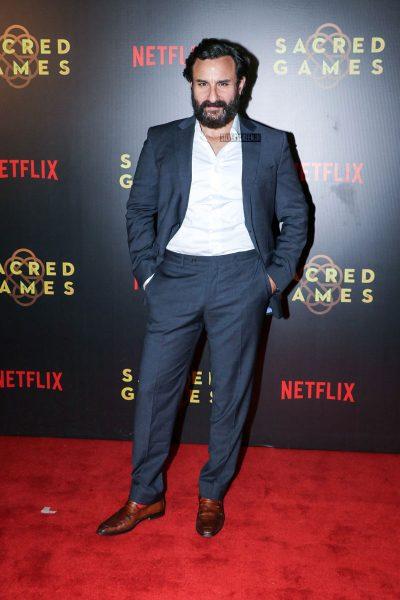 Saif Ali Khan At The Sacred Games Premiere